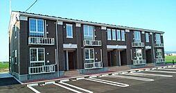新潟県新発田市小舟町1丁目の賃貸アパートの外観