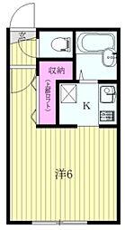 三茶花壇[4階]の間取り
