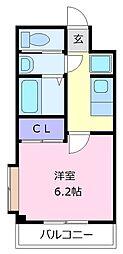 ARATA松原天美東[2階]の間取り