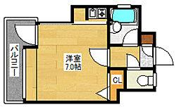ピュアドーム博多アベール[3階]の間取り