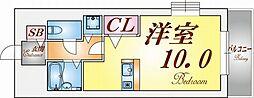 トーカンマンション須磨月見山[2階]の間取り