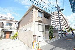 大阪府堺市北区百舌鳥赤畑町2丁の賃貸アパートの外観