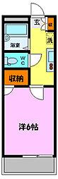 SHIBIRAKI[1階]の間取り