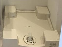 クレヴィスタ北綾瀬の洗濯機置場
