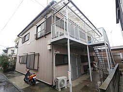 神奈川県伊勢原市伊勢原3丁目の賃貸アパートの外観