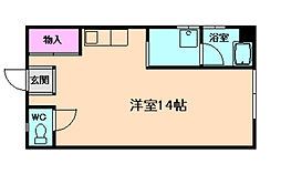 北一ビル[3階]の間取り