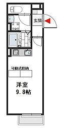 サーシアム[1階]の間取り