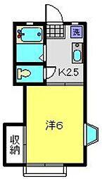 [テラスハウス] 神奈川県横浜市南区中里3丁目 の賃貸【神奈川県 / 横浜市南区】の間取り