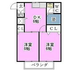 YAWARA PART4[1階]の間取り