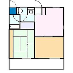 ラ・コーポトシマ[305号室]の間取り