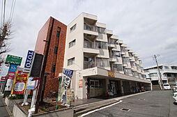 神奈川県横浜市青葉区田奈町の賃貸マンションの外観