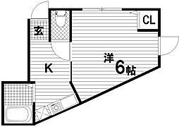 マウンテンハウスI[1階]の間取り
