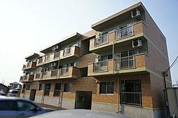 栃木県宇都宮市陽西町の賃貸マンションの外観