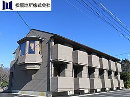 愛知県豊橋市日色野町字八王子の賃貸アパートの外観