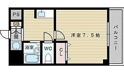 セルヴォア小松[2階]の間取り