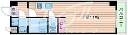 Osaka Metro谷町線 関目高殿駅 徒歩5分の賃貸マンション 7階ワンルームの間取り