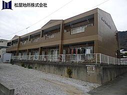 愛知県田原市田原町柳ケ丘の賃貸アパートの外観