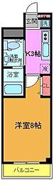 PALACE TOMO[1階]の間取り