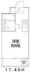 ドーミー小平[208号室]の間取り
