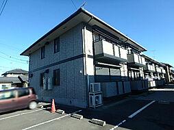栃木県小山市犬塚3丁目の賃貸アパートの外観
