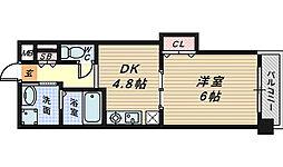 リアライズ堺駅前[9階]の間取り