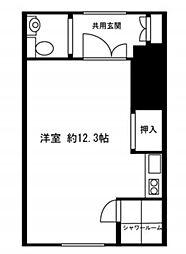 東京都新宿区馬場下町の賃貸アパートの間取り