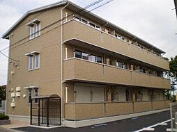 栃木県小山市城北1丁目の賃貸アパートの外観