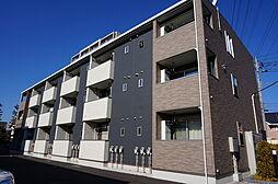 栃木県小山市城東1丁目の賃貸アパートの外観