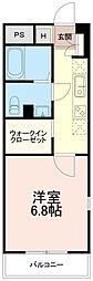 ソフィア永山[0105号室]の間取り