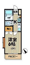 ジュネパレス鎌倉第7[311号室]の間取り