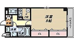 大阪府和泉市のぞみ野3丁目の賃貸マンションの間取り