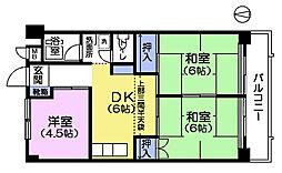 クレインハイツ[2階]の間取り