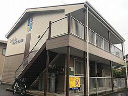 愛知県小牧市大字間々原新田の賃貸アパートの外観