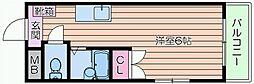 美久仁屋ビル[3階]の間取り