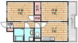 メゾンマリーネ[3階]の間取り