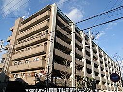大阪府枚方市香里ケ丘7丁目の賃貸マンションの外観