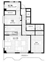 グレースマンション[3階]の間取り