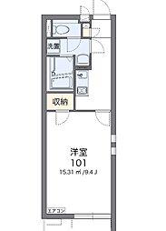 埼玉県さいたま市浦和区大東2丁目の賃貸マンションの間取り