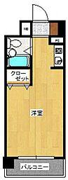 メゾン・ド・天神[604号室]の間取り