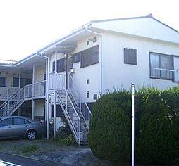 神奈川県横浜市青葉区田奈町の賃貸アパートの外観