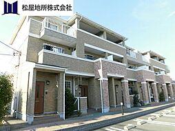 愛知県豊橋市小向町字北小向の賃貸アパートの外観