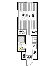 コピ坂戸[2階]の間取り