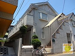 千葉県市川市末広2丁目の賃貸アパートの外観