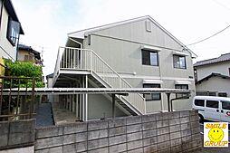 千葉県市川市中国分4の賃貸アパートの外観