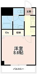カーサコンフォルトツー(カーサコンフォルト2)[2階]の間取り