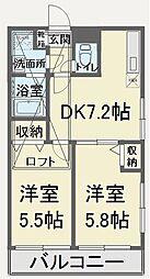 コンセプト小笹[3階]の間取り