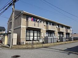 滋賀県米原市中多良2丁目の賃貸アパートの外観
