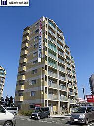 愛知県豊橋市牟呂町字松崎の賃貸マンションの外観