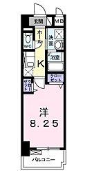 ブライクT27[3階]の間取り