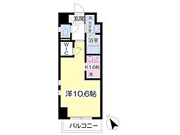 クオリア新鎌ヶ谷[8階]の間取り
